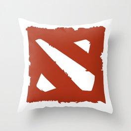eatsleepdota Throw Pillow
