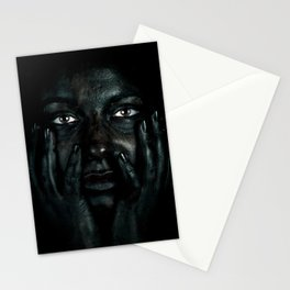 Black 03 Stationery Cards