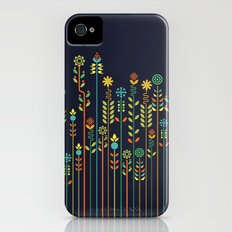 Overgrown flowers iPhone (4, 4s) Slim Case