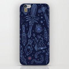 Magic Weapons iPhone & iPod Skin