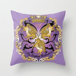 My Empire Collection Summer Set Purple Throw Pillow