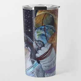 Cat in Space Travel Mug