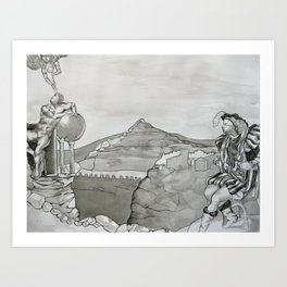 Renaissance  Art Print