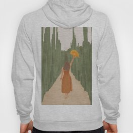 A Way Through the Cactus Field Hoody