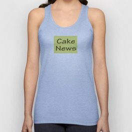 Cake News - Allusion to May in Salzburg Unisex Tank Top