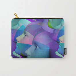 feeling blue together Carry-All Pouch