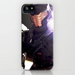 Glowy Spartan iPhone Case