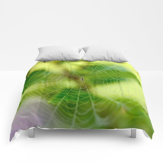 Beautiful Cobweb Comforters