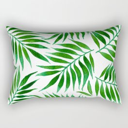 FOLIAGE WATERCOLOR Rectangular Pillow
