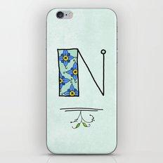 N iPhone & iPod Skin