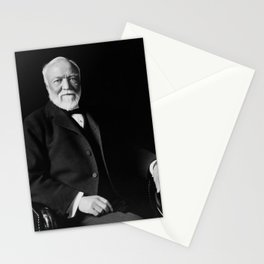 Andrew Carnegie - American Philanthropist Stationery Cards