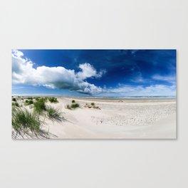 Grenen Beach Panorama Canvas Print