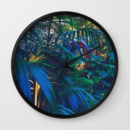 Dreamboat VISTA Floral Print Wall Clock