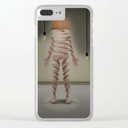 A light man Clear iPhone Case