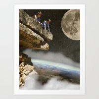 """Earth Balcony"" Art Print"
