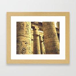 colonne Framed Art Print