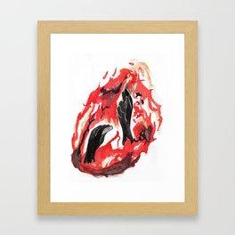 Arsonist's Lullaby Framed Art Print