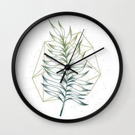 Geometry and Nature I Wall Clock