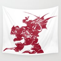 final fantasy Wall Tapestries featuring FINAL FANTASY VI by DrakenStuff+