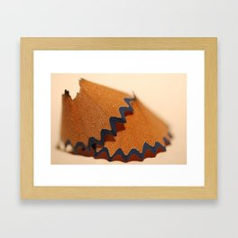 Shavings Framed Art Print
