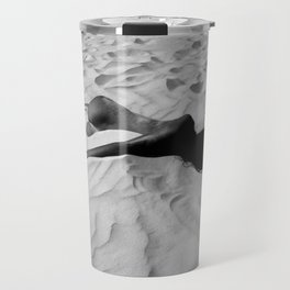 'All of Me' reclining nude brunette female form black and white photograph / art photography  Travel Mug