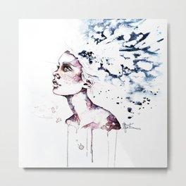Aqua. Metal Print