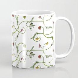 NZ Foliage - White Coffee Mug