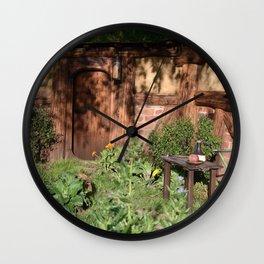 Dappled Garden Wall Clock