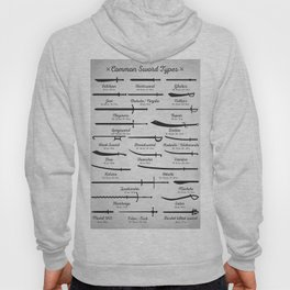 Common Sword Types Hoody