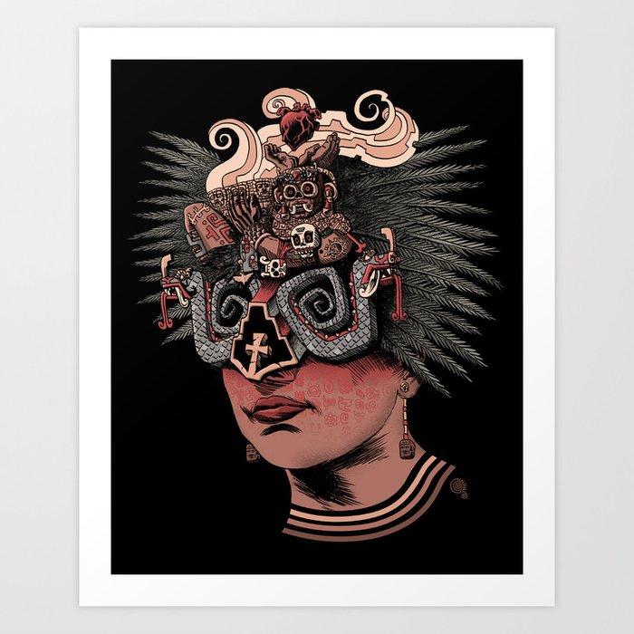 Chacmool Art Print