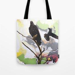 Eagle and Crow Tote Bag