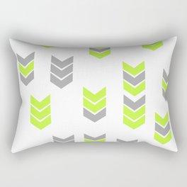 Neon Arrows Rectangular Pillow