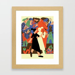 """""""The Strange Persistence of First Languages"""" by Sarah Mazzetti for Nautilus Framed Art Print"""