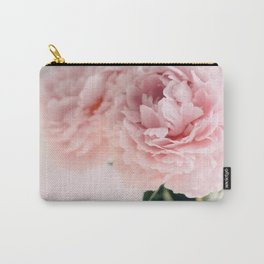 Blush Peonies Carry-All Pouch