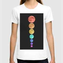 MOON GLOW RAINBOW T-shirt