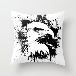 The Majestic American Bald Eagle Throw Pillow