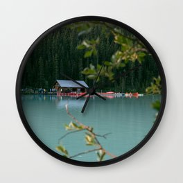 Lake Louise Lodge Wall Clock