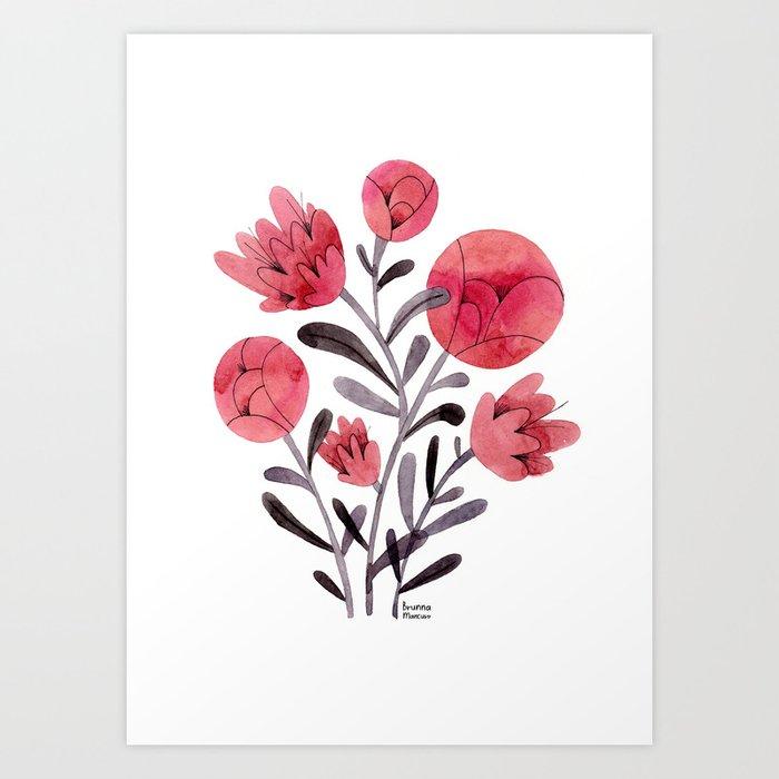 Adelina Art Print