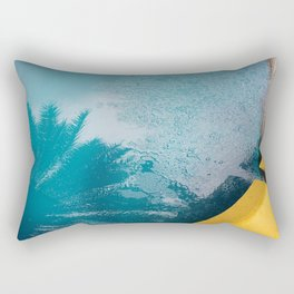 The Wet Palm Rectangular Pillow