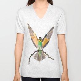 Bird Ripple  Unisex V-Neck