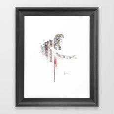 The Man in Black  Framed Art Print