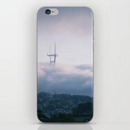 San Francisco Twin Peaks iPhone Skin