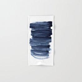 Just Indigo 3 | Minimalist Watercolor Abstract Hand & Bath Towel