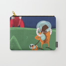 Dog Walking on the Moon Carry-All Pouch