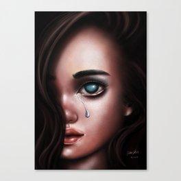 The Last Tear Canvas Print