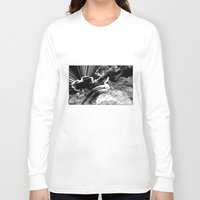 apollonia Long Sleeve T-shirts featuring asc 615 - La volupté des formes (The voluptuousness of painting) by From Apollonia with Love