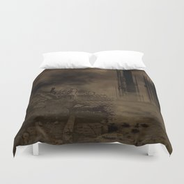 End Times Duvet Cover