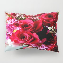 Hearts And Flowers Pillow Sham