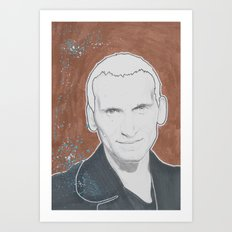 9th Doctor Art Print