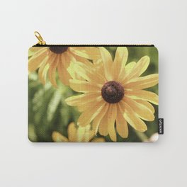 Vintage Black Eyed Susan Carry-All Pouch